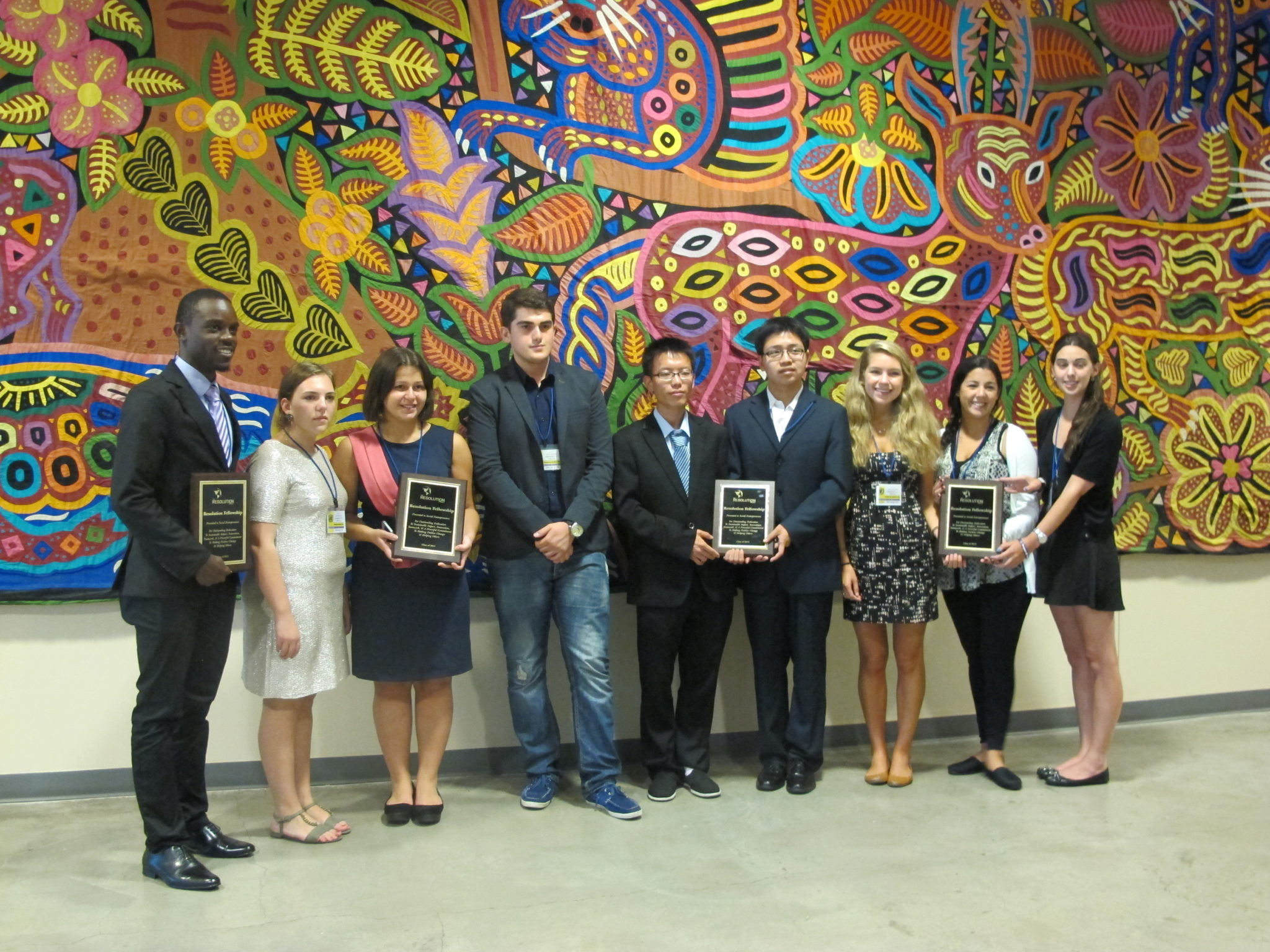 Youth Assembly at the United Nations SVC Winners