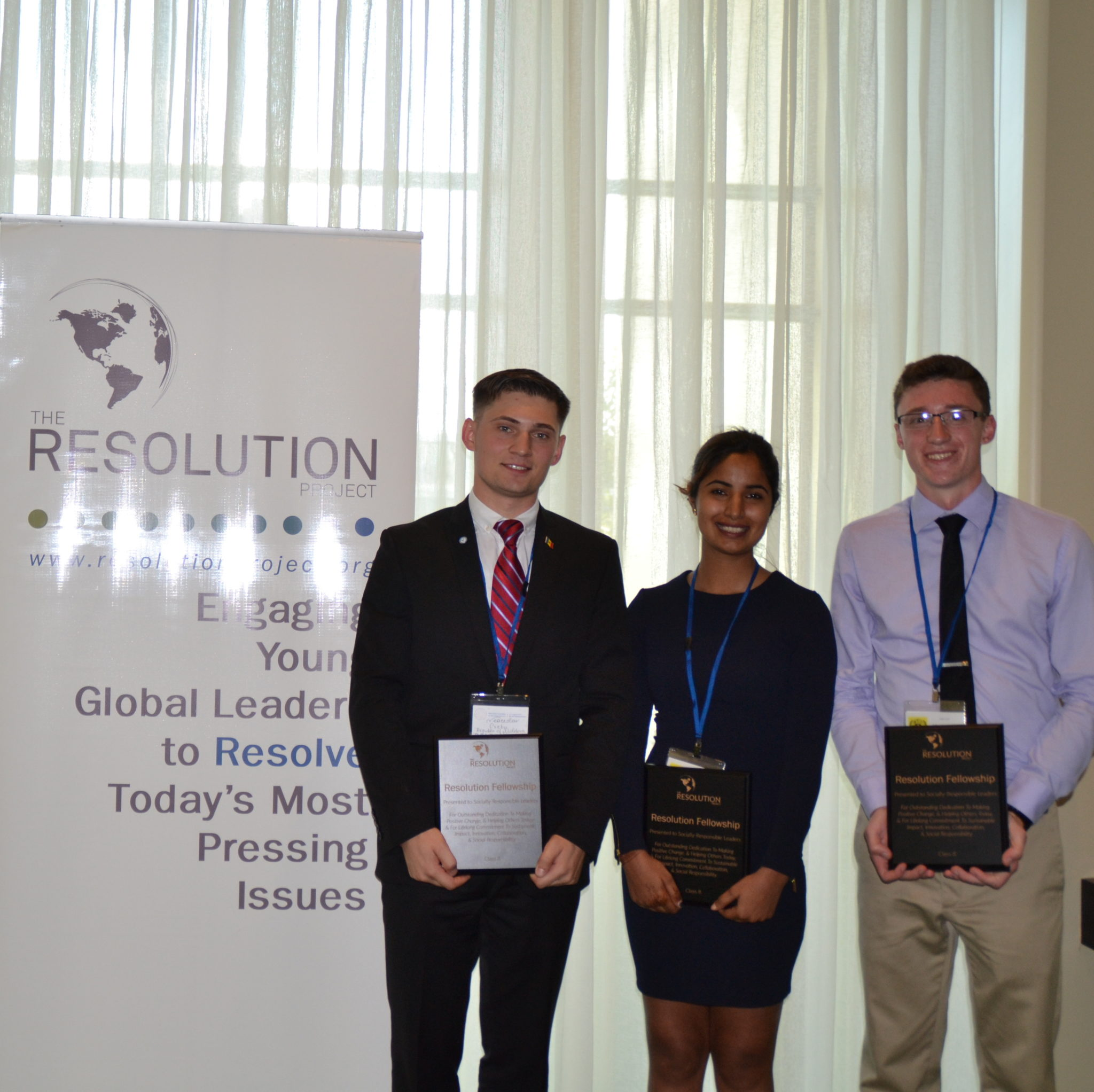 Youth Assembly at the United Nations Summer 2015 SVC Winner Announcement