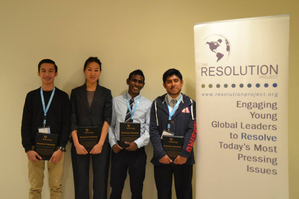 Youth Assembly at the United Nations Winter 2015 SVC Winner Announcement