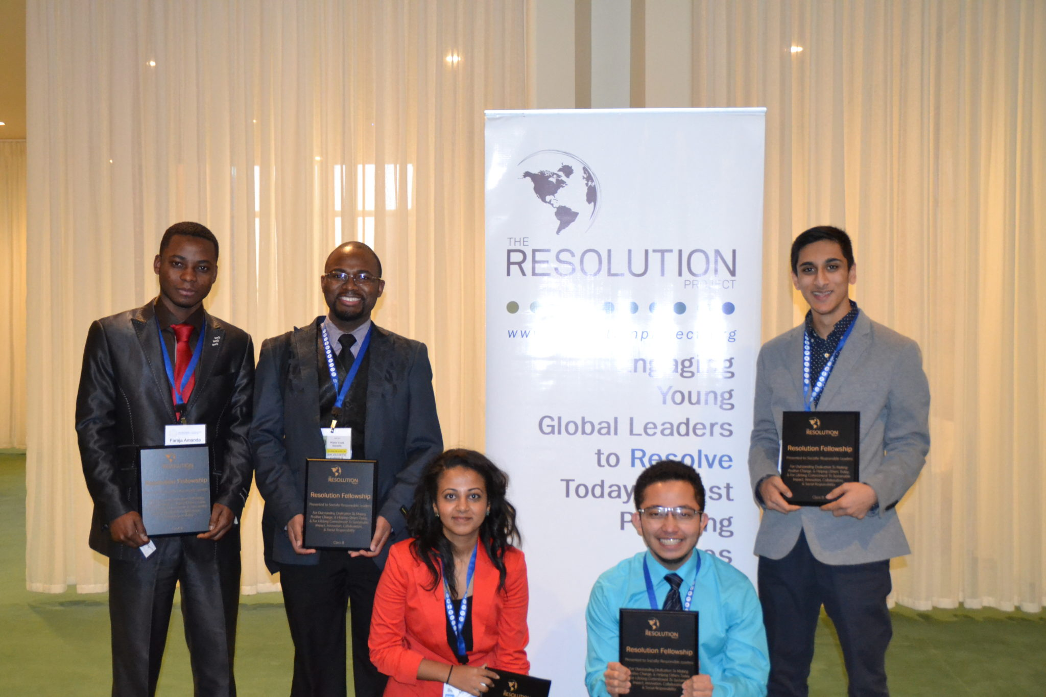 Youth Assembly at the United Nations Winter 2016 SVC Winner Announcement
