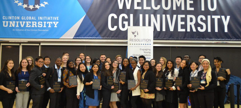 Clinton Global Initiative University 2016 SVC Winner Announcement
