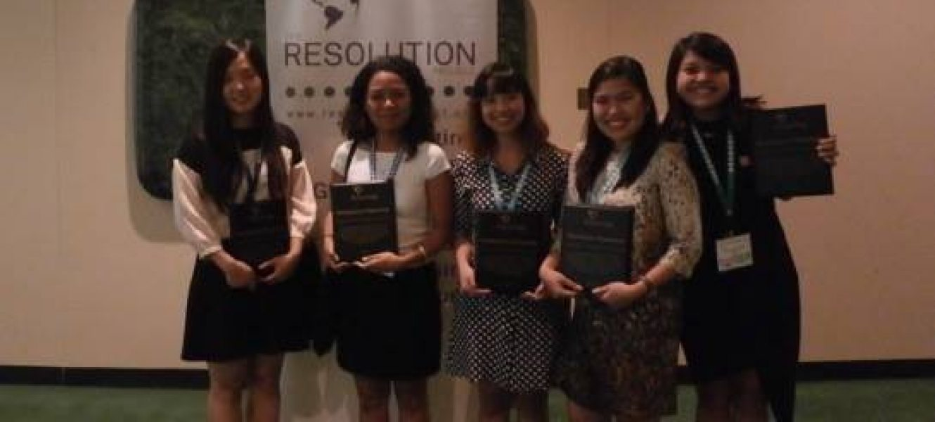 Youth Assembly at the United Nations Summer 2016 SVC Winner Announcement
